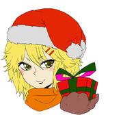 凛沙(クリスマスの姿)