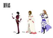 Divas in the Final Fantasy