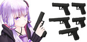 【MMDモデル配布】Glockセット