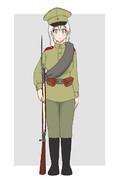 WW1ロシア帝国軍歩兵