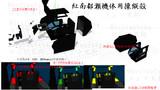 【MMDモデル配布】紅南都瀬機体用操縦殻【汎用モデル】