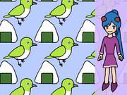 オメガ (おにぎり、メジロ(鳥)、ガール(少女))