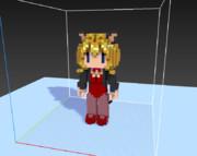 3Dドットの練習
