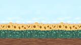 16:9と化した向日葵畑ステージ ver2.0
