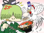 ニワトリ布都ちゃんは貝殻を食べたい【酉年記念】