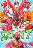 【2017】スーパー戦隊・トリレッド