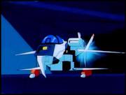 "VFH-10A オーロラン ""固定翼戦闘機"" 形態「第14話 アイアンレディー 」より"