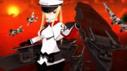 【モデル配布】Graf Zeppelin Ver.β2【MMD艦これ】