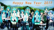 【MMD年賀状2017】Happy New Year 2017