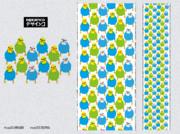 マリメッコ風セキセイインコ(三色おすめす)02
