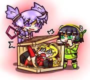 マキの箱詰め