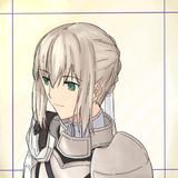 菫色の銀騎士