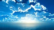 【MMDステージ配布】光る雲 TN5【スカイドーム】