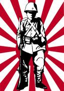 プロパガンダ風帝国陸軍兵士