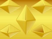 ゴールドの八面体