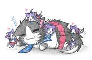 阿賀野ネコと酒匂ネコ