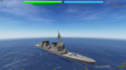 秋月型護衛艦 by マシンクラフト