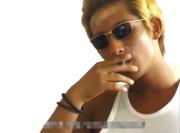 タバコを吸うウェスカー(淫夢)