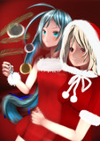 武蔵さんと清霜ちゃんのクリスマス