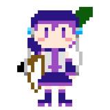 ドットデフォ子 with RPG7
