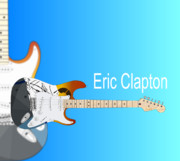 Eric Clapton Crash Paint Stratocaster