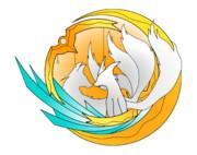 狐ロゴ(二匹)