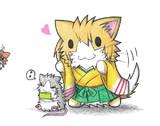 ネズミ提督と飛龍ネコ