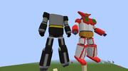 「Minecraft」月面に捨てられていた何かsecond「ゲッターロボ」