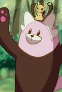 キテルグマとミミッキュ