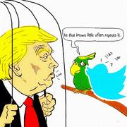 ツイッター大好きな大統領