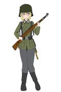 WW2初期ドイツ軍歩兵