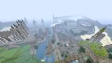 【Minecraft】PS4で街作り中!!!  全体図⑤