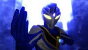 青いウルトラマン