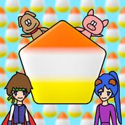 キャンディコーンの五角形