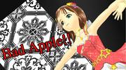 春香 美希 あずさ 響 伊織にBad Apple!!を踊ってもらいました