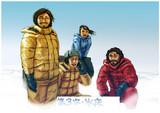 クトゥルフ神話TRPGシナリオ:「こちら、南極基地掘削隊」登場NPC顔写真