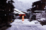 鈴『雪の町』