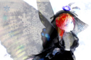 銀獅式波音リツ『雪の結晶』