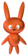 銅のウサギ
