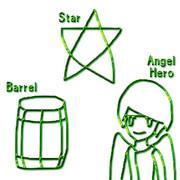 ホタテ (星、樽、天使勇者)