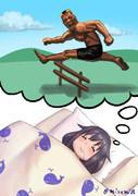 天山を数えてたら眠ってしまった龍鳳