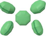 八角形のマカロン