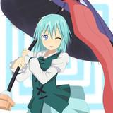 多々良小傘は照れ笑う