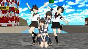 青葉の艦娘フォトギャラリー No.17  第十九駆逐隊