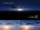 [HDR形式あり] ++skies; 032 [16k8k/8k4kスカイドーム素材配布]