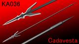 【槍】KA036 Cadavesta / カダヴェスタ【MMD武器】
