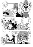 艦娘ショート漫画1