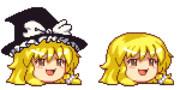 魔理沙(帽子なし)