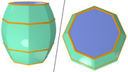 八角形の樽