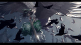 霊烏路空と鴉の群れ